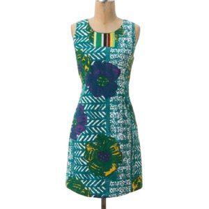 Anthropologie Vanessa Virginia Hibiscus Dress 4